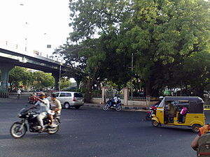 Adyar, Chennai - Adyar Signal near Malar Hospital