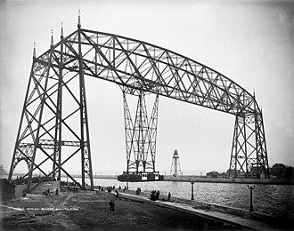 Aerial Lift Bridge - Image: Aerial Bridge, Duluth, Minnesota, 1905