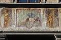 Affreschi della facciata di palazzo dell'antella, 1619, registro inferiore 04 amorino dormiente di giovanni da san Giovanni (da caravaggio).JPG
