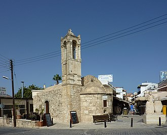 Polis, Cyprus - Agios Nikolaos church in town centre.