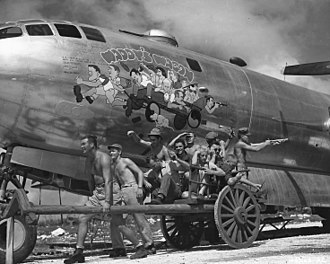 """869th Bombardment Squadron - Crew of 869th B-29 42-24598 """"Waddy's Wagon"""" (lost 9 January 1945)"""