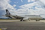 Air New Zealand Airbus A320-232 ZK-OJF at ROT (16368668608).jpg