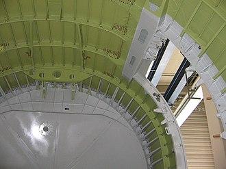 Fuselage - Image: Airbus A340 Intérieur Fuselage Arrière