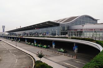 Chengdu Shuangliu International Airport - Image: Airport, Terminal JP6619845