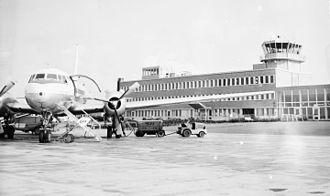 Malmö Bulltofta Airport - Bulltofta Airport in the 1960s.