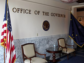 Alaska State Capitol - Governor of Alaska's office