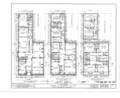 Albert Cluett House, 59 Second Street, Troy, Rensselaer County, NY HABS NY,42-TROY,1- (sheet 1 of 7).png