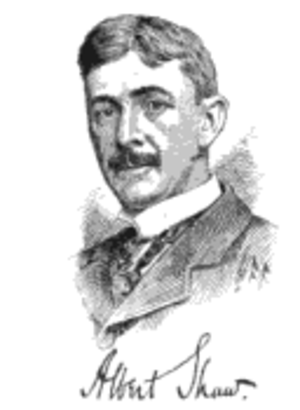 Albert Shaw (journalist) - Albert Shaw, ca. 1899