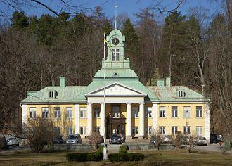 Alby, Botkyrka - Alby gård, March 2012.