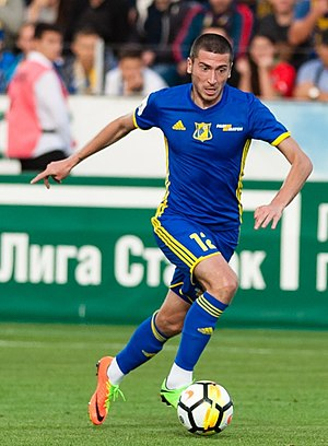 Aleksei Ionov - Ionov with Rostov in 2017