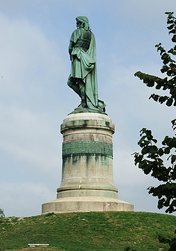 English: Monument of Vercingétorix in Alesia (...