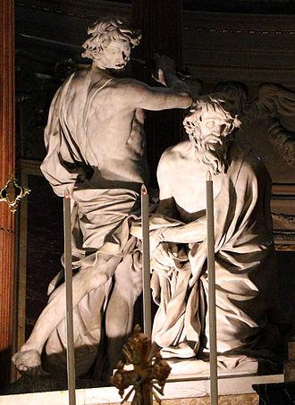 San Paolo Maggiore, Bologna - Image: Alessandro algardi, decollazione di san paolo, 1641 44