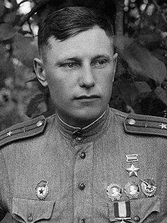 Alexander Pokryshkin Soviet aviator