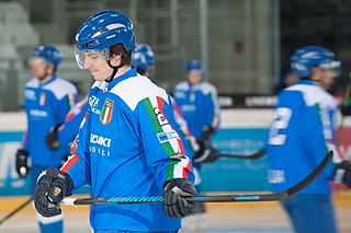 Alex Trivellato Italian ice hockey player