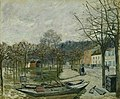Alfred Sisley (1839-1899) - The Flood at Port-Marly - PD.69-1958 - Fitzwilliam Museum.jpg