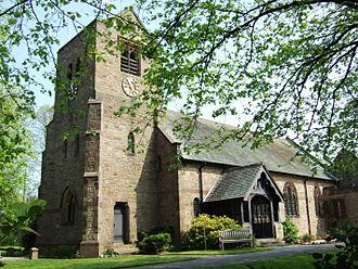 Hesketh Bank - Image: All Saints Church, Hesketh Bank