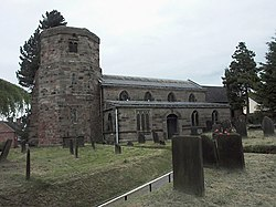 All Saints church, Dilhorne - geograph.org.uk - 481147.jpg