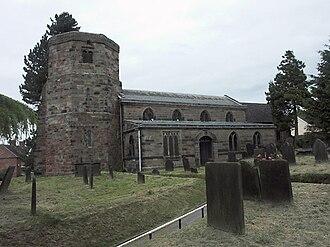 Dilhorne - All Saints church