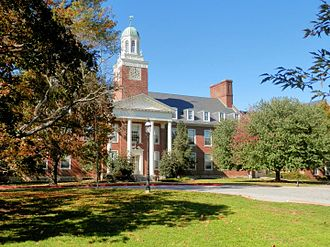 McDonogh School - Allan Building on the school campus