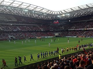 Allianz Riviera football stadium