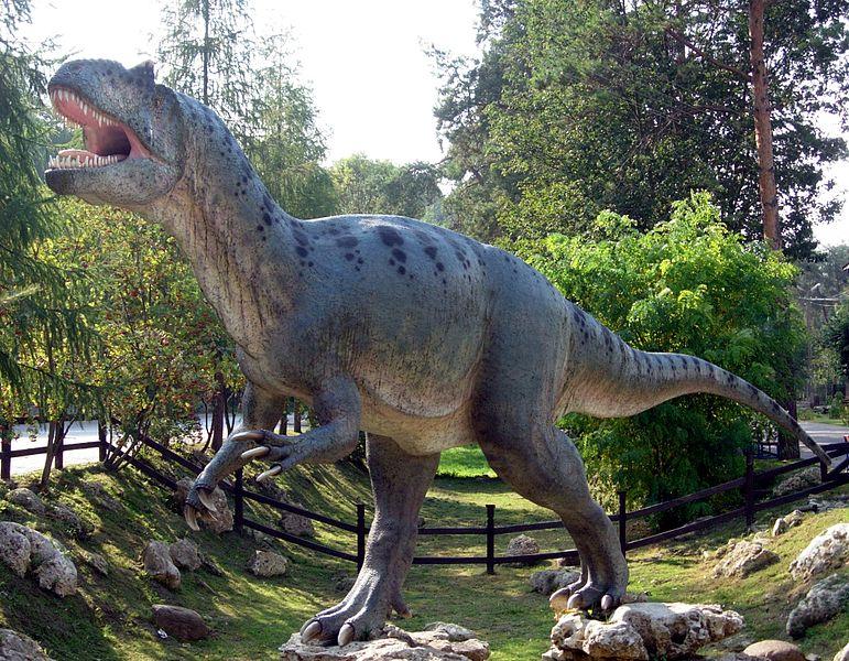 Plik:Allosaurus in Baltow 20060916 1500.jpg