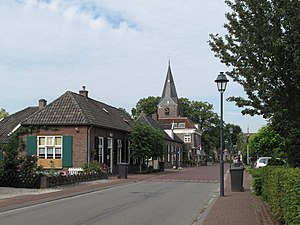 Almen - Almen, church in the street
