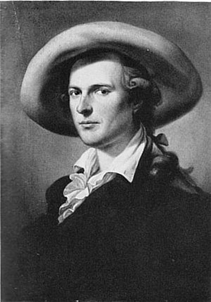 Aloys Hirt - Portrait by Friedrich Georg Weitsch, 1785