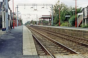 Alresford (Essex) railway station - Alresford station in 1992