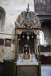 Altar of the Virgin in the Church of the Nativity 2010.jpg