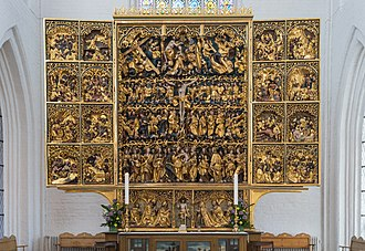 Claus Berg - Claus Berg: Altarpiece in Odense Cathedral