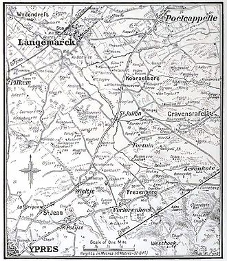 50th (Northumbrian) Division - The Northumbrian Division's first battles.
