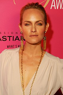 Amber Valletta American model and actress