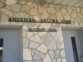 American Angora Goat Breeders' Association - The American Angora Goat Breeder's Association is based in the small city of Rocksprings.