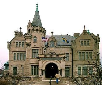 Swedish diaspora - The American Swedish Institute in Minneapolis, Minnesota, United States