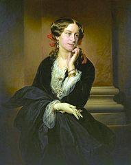 Portrait of Aleksandra Potocka (1818-1892).