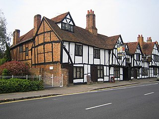 Amersham market town within Chiltern district in Buckinghamshire, England