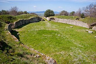 Rusellae - Roman Amphitheatre of Rusellae