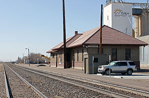 Fort Morgan station - The Amtrak station in Fort Morgan, Colorado.
