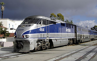 Amtrak California - The Pacific Surfliner in Santa Barbara
