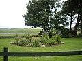 An ornamental garden in Roadside of Catterline - geograph.org.uk - 1371533.jpg