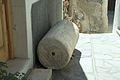 Ancient columns at house under Kastro, Naxos Town, 091377.jpg