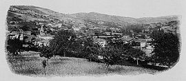 A general view of Ancy, at the beginning of the 20th century