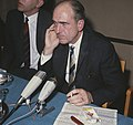 Andreas Papandreon (Griekenland) houdt persconferentie in Poort van Cleve , Amst, Bestanddeelnr 254-8049.jpg