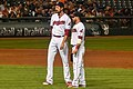 Andrew Miller and Jason Kipnis (29085894990).jpg