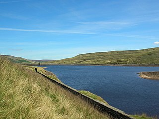 Angram Reservoir Reservoir in North Yorkshire, England