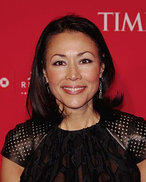 Ann Curry - Curry at the 2012 Time 100