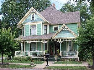National Register of Historic Places listings in Jefferson County, Ohio - Image: Ann E. Lewis Bernhard House 2012 07 13