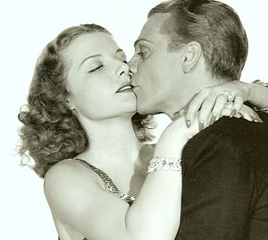Leading lady - Ann Sheridan as James Cagney's leading lady in Angels with Dirty Faces