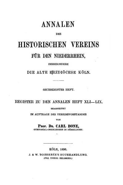 File:Annalen des Historischen Vereins für den Niederrhein 60 (1896).djvu