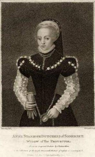 Edward Seymour, 1st Duke of Somerset - Anne Stanhope